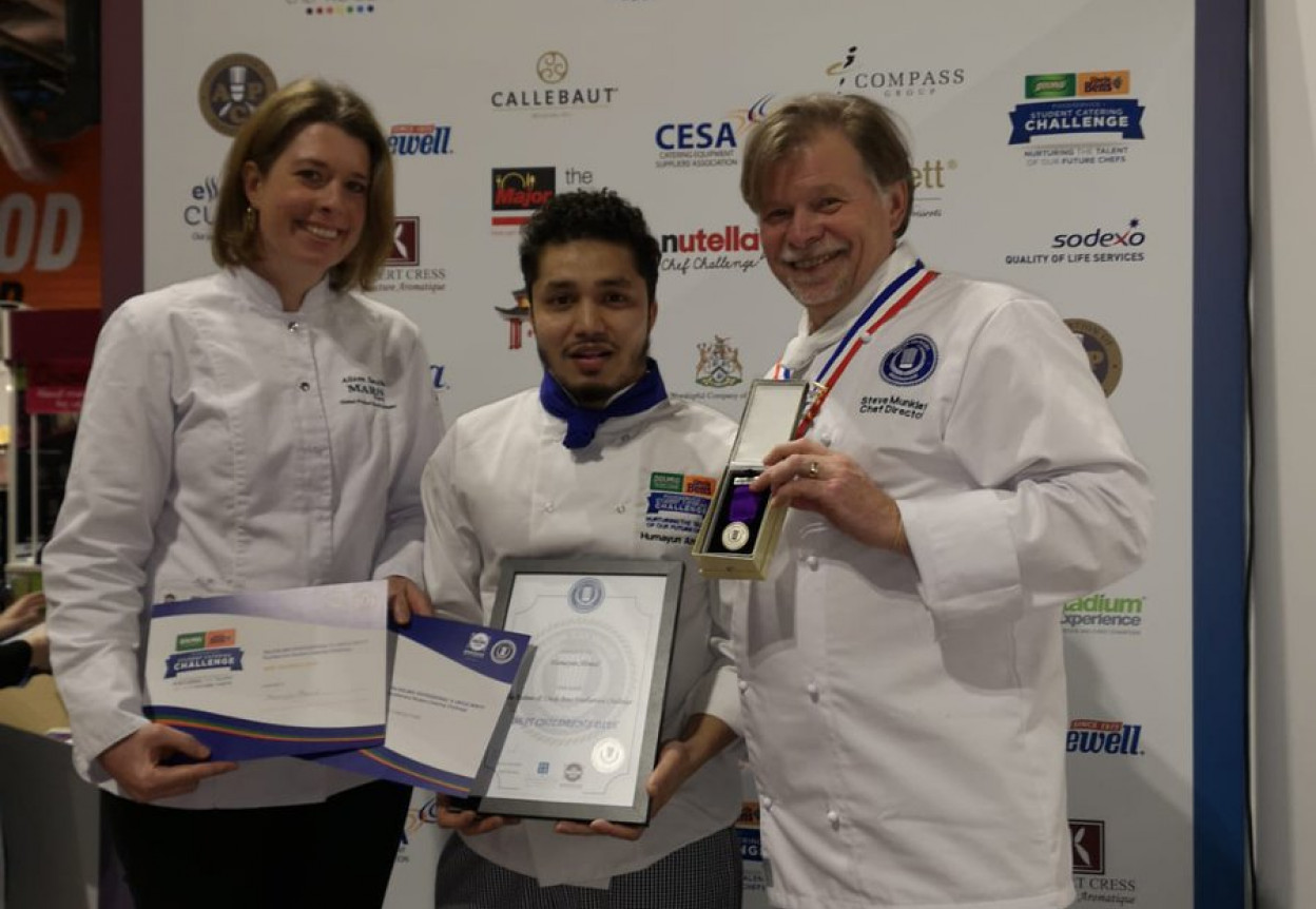 Foodservice 2019 Winning students