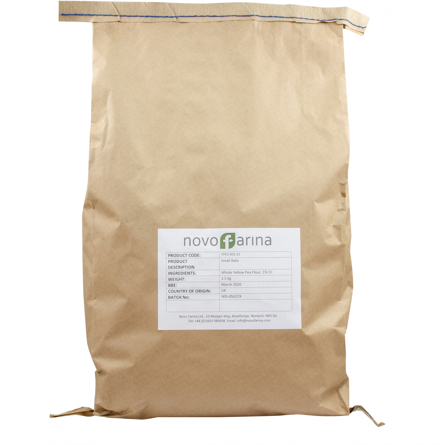 Novofarina 15 Cut Out Flour Sack